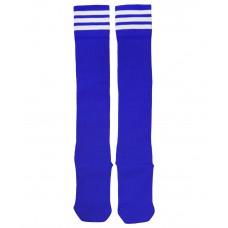 Гетры футбольные 4144, синие/белые