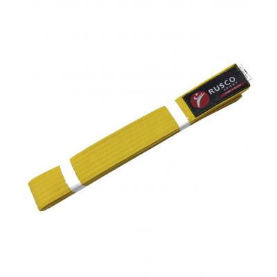 Пояс для единоборств, 280 см, желтый