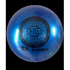 Мяч для художественной гимнастики RGB-101, 15 см, синий