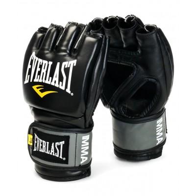 Перчатки для ММА Pro Style Grappling 7778BLXLU, к/з, черные/серые/желтые