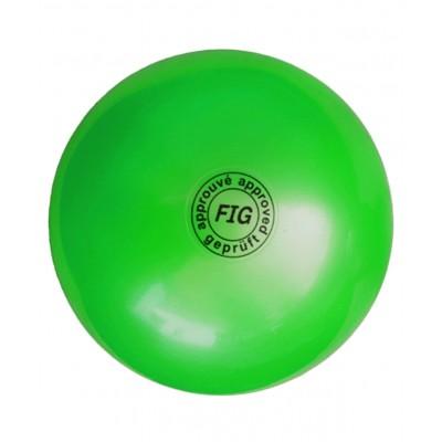 Мяч для художественной гимнастики АВ2801, 19 см, 400 г, зеленый