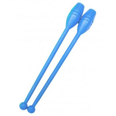 Булавы для художественной гимнастики  У714, 35 см, голубые