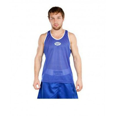 Майка боксерская Club BVC-6310, синяя