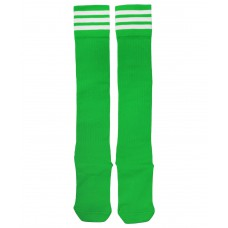 Гетры футбольные 3336, зеленые/белые