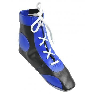 Обувь для самбо П кожа, синяя