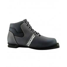 Ботинки лыжные NN75 Nordik 43, синт. кожа, серые