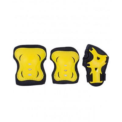 Комплект защиты Rocket, черный/желтый