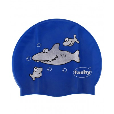 Шапочка для плавания Childrens Silicone Cap, силикон, с рисунком, 3047