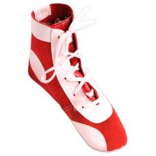 Обувь для самбо П замша, красная