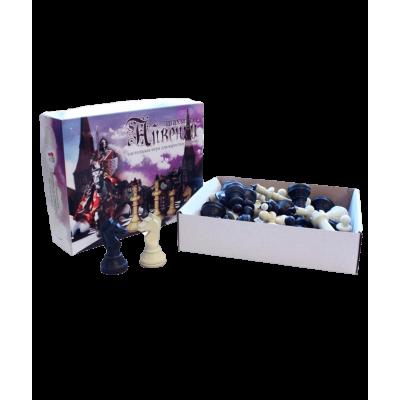 """Шахматные фигуры """"Айвенго"""", в картонной упаковке"""
