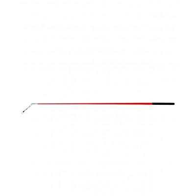 Палочка для ленты для художественной гимнастики АВ215, 56 см, с карабином, красная