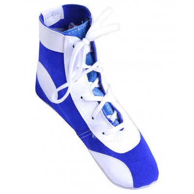 Обувь для самбо П замша, синяя